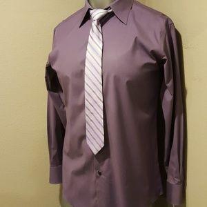 Tie/Shirt Combo Tie-Calvin Klein, Shirt-Murano